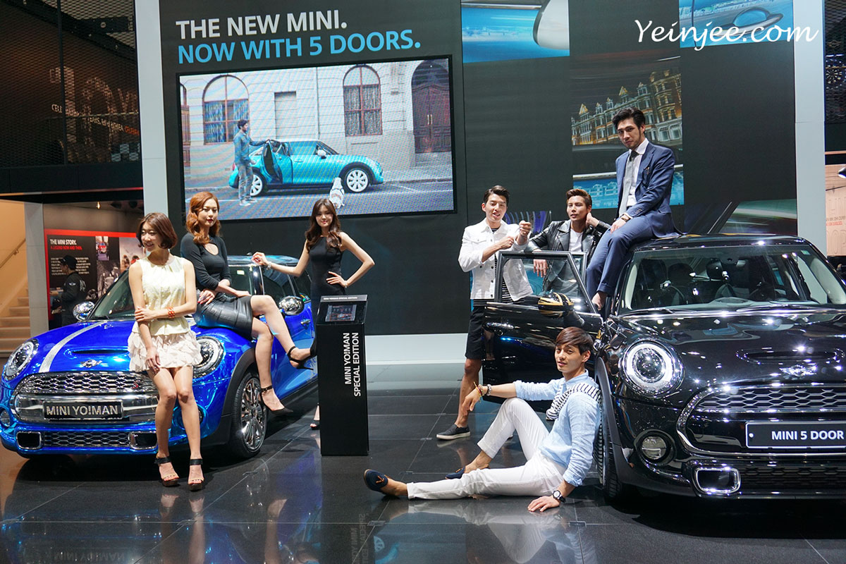 Seoul Motor Show 2015 Mini promotional models
