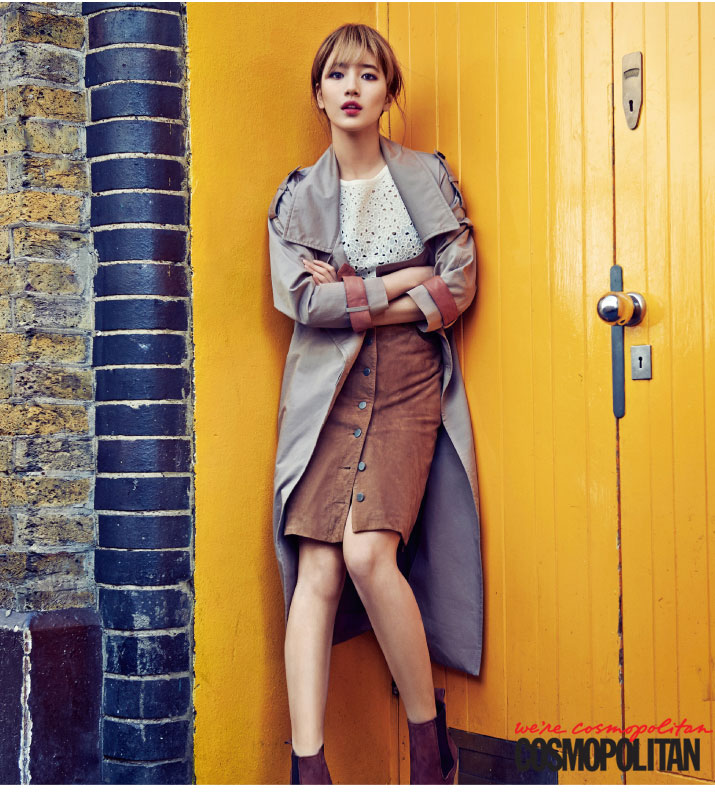 Bae Suzy Cosmopolitan Korea in London