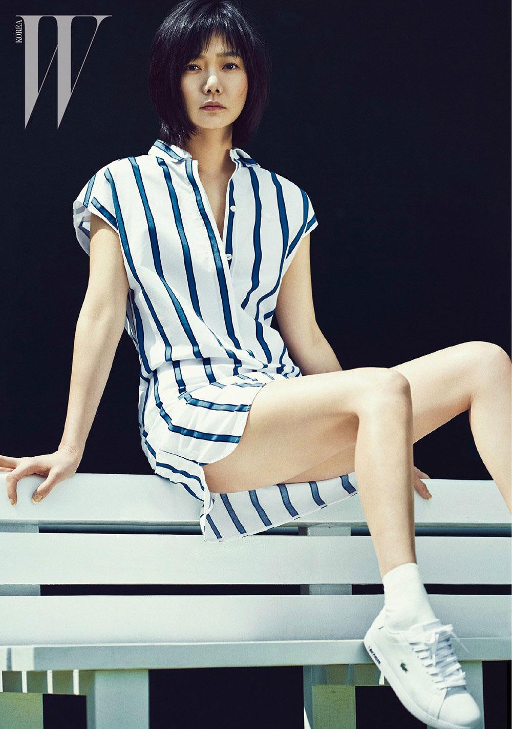 Bae Doona W Korea Lacoste clothing