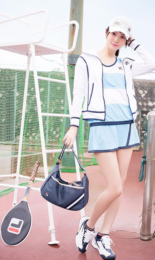 Nozomi Sasaki Japanese Fila sportswear