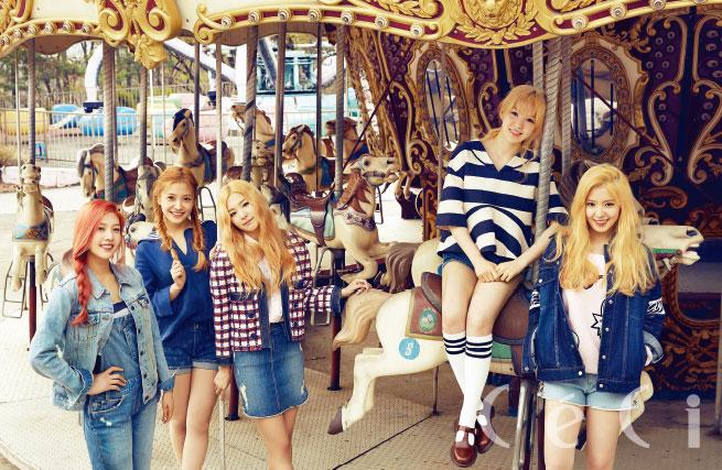 Red Velvet Korean CeCi Magazine