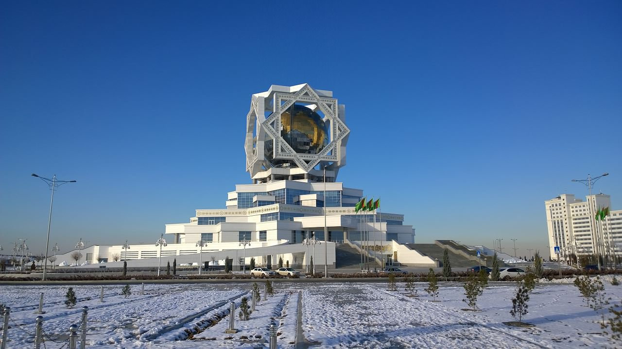 Wedding Palace in Ashgabat, Turkmenistan