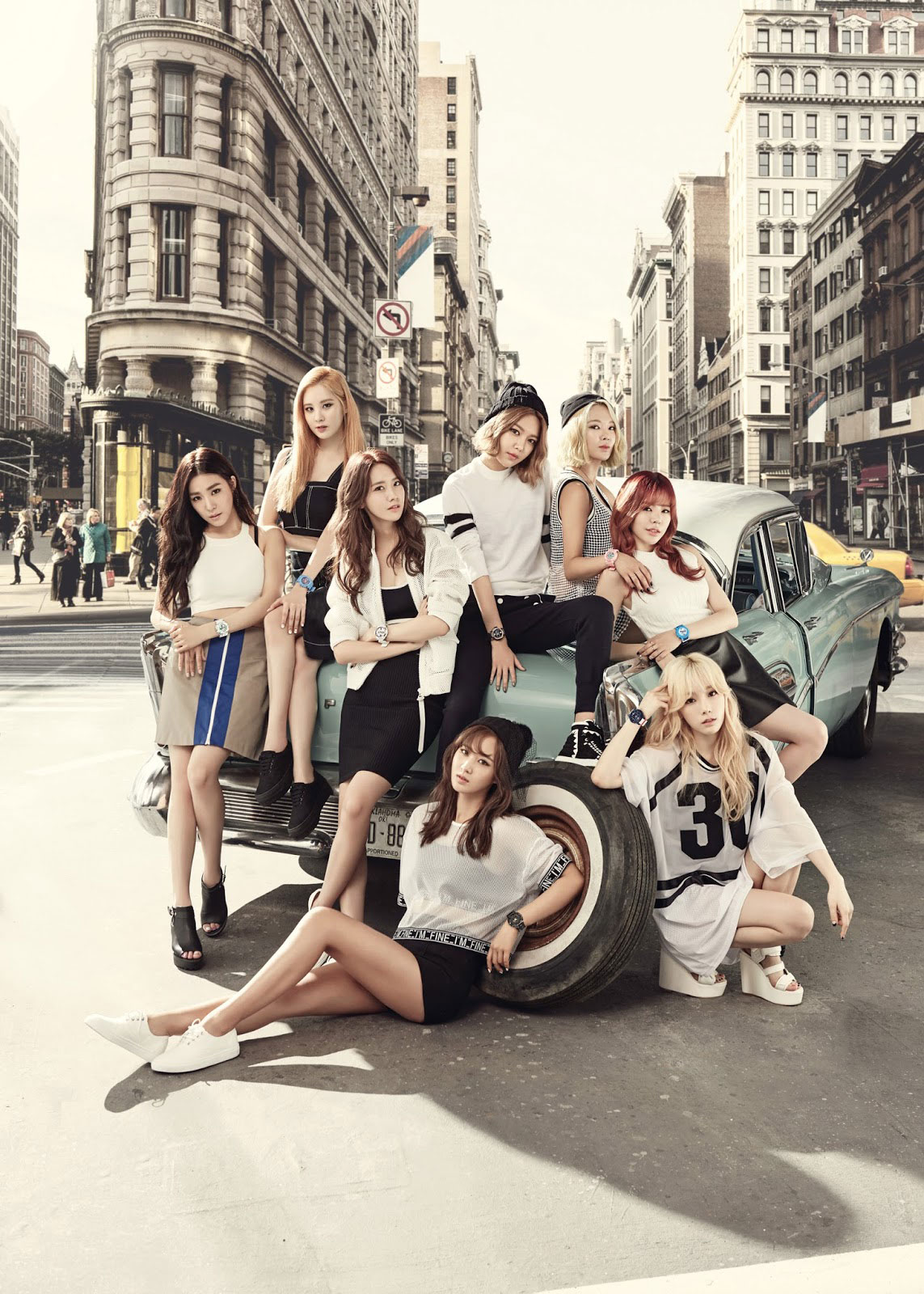 Girls Generation Baby-G be tough be cool