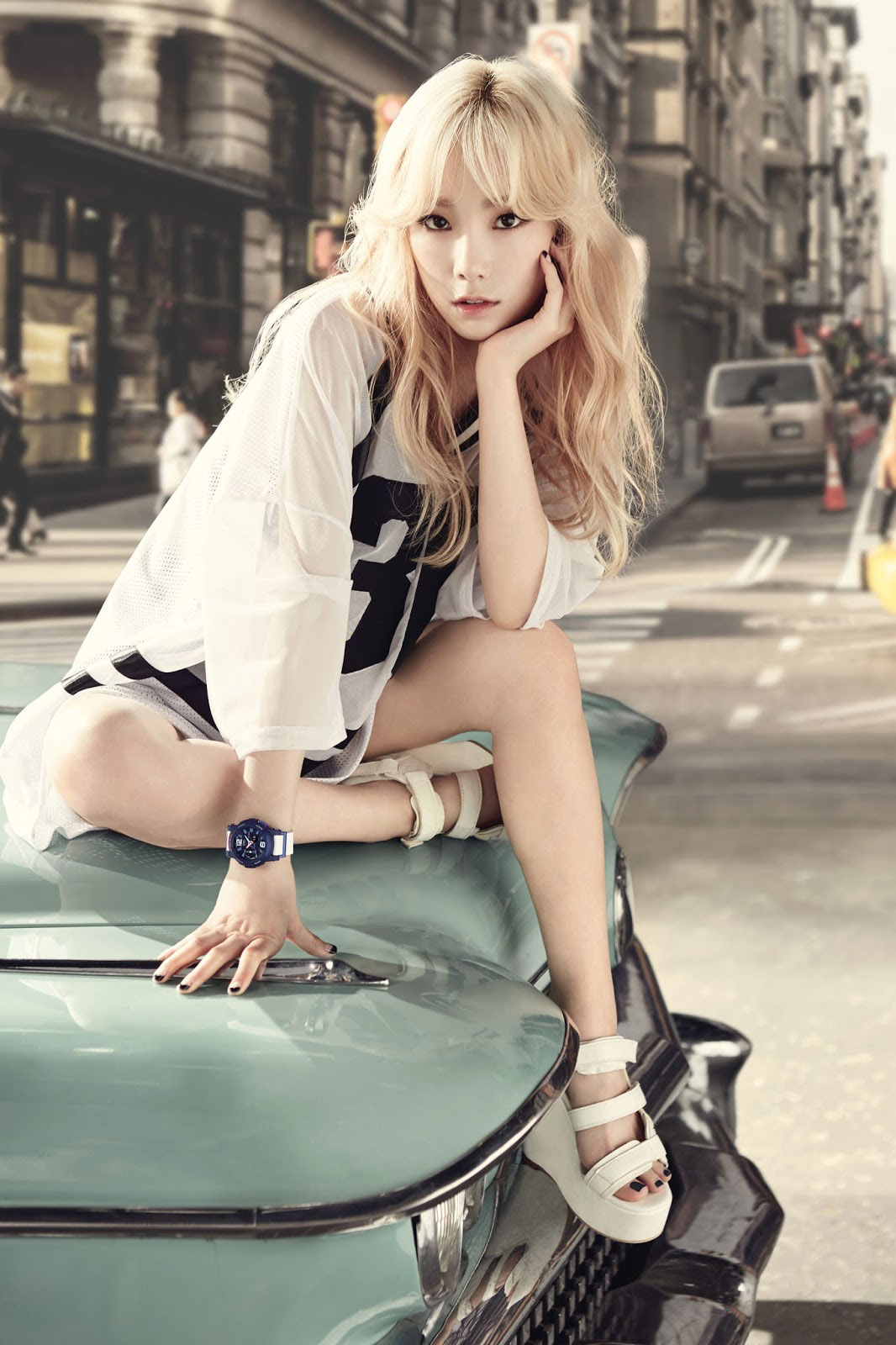 SNSD Taeyeon Baby-G be tough be cool